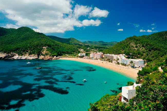 Ibiza is known as one of the top 10 party destinations in Europe.